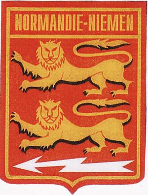 Эмблема полка Нормандия Неман