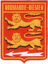 Нормандия Неман Герб